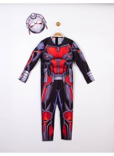 MARVEL  Lisanslı Kaslı Çocuk Kostüm Siyah